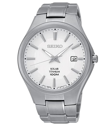 and with silver men quartz titanium watch dp foldover solar dial clasp watches seiko white display analogue s