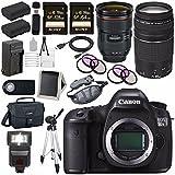 Canon EOS 5DS-R 5DSR DSLR Camera + EF 24-70mm f/2.8L II USM Lens + Canon EF 75-300mm f/4-5.6 III Telephoto Zoom Lens + LPE-6 Lithium Ion Battery + Canon 100ES EOS shoulder bag Bundle 13