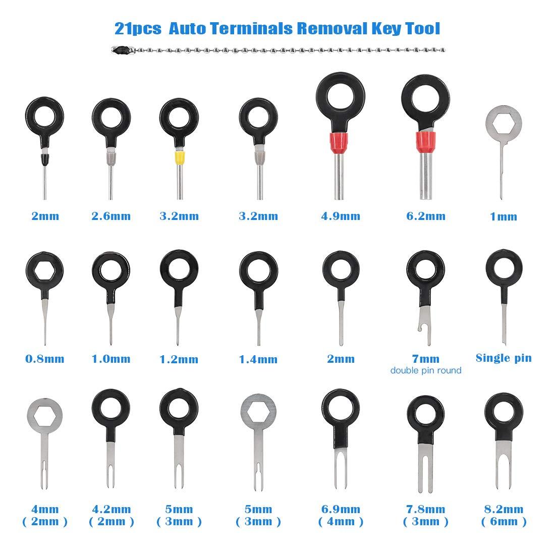 Electrical System Tools A Crimper Tool and 21Pcs Pin Terminals ...