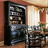 Hooker Furniture Indigo Creek Buffet in Rub-Through Black