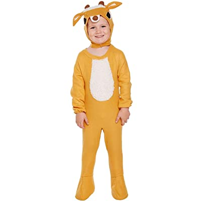 HENBRANDT Reindeer Toddler Fancy Dress Costume 3 Years, Br Own, Size 3T: Clothing