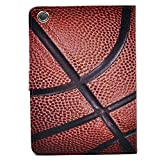 Unique Basketball Sports Pattern Leather Flip Slim Book Shell Stand Case Cover For ipad mini 1 2 Retina ipad mini 3