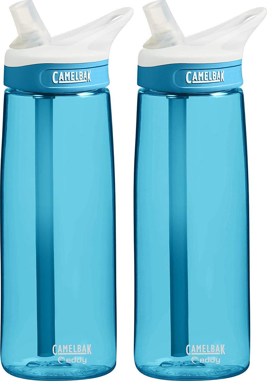 CamelBak Eddy Water Bottle, 20oz (2 Pack) by CamelBak