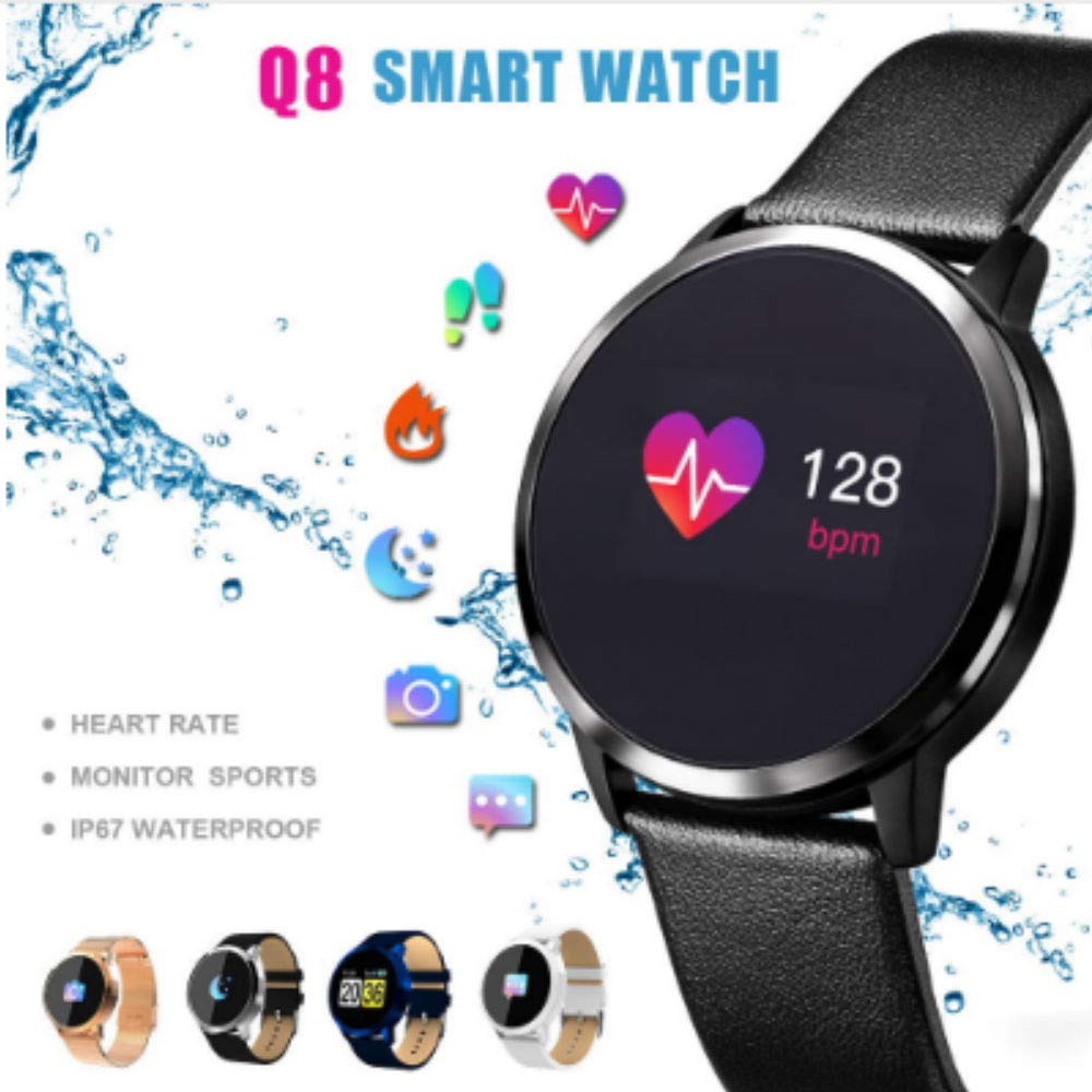 Zeerkeer Smart Watch Man Smart Watch Pantalla a Color Pulsera ...