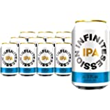 Infinite Session Alcohol-Free Beer (IPA, Case of 12 Cans)