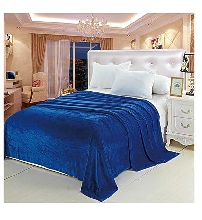 Amazon.com  Deluxe Super Soft Luxurious Micro Plush Flannel Blanket ... ae56cf470
