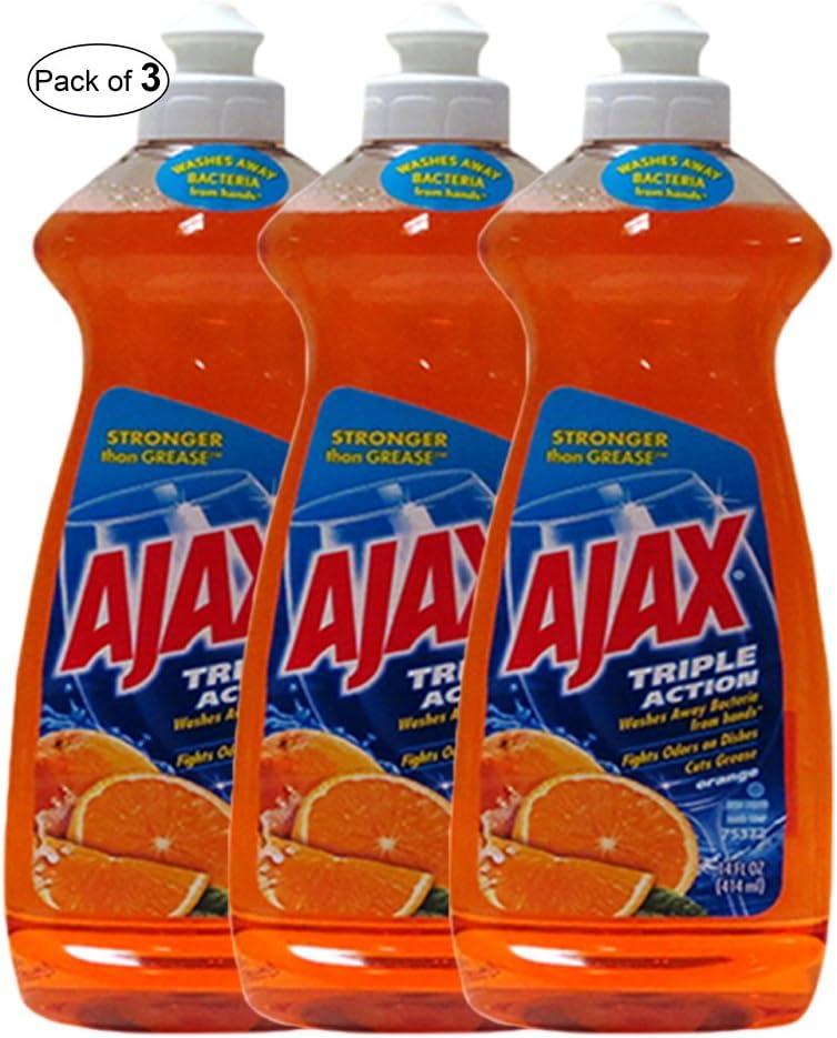 AjaxTriple Action Orange(414ml) (Pack of 3)