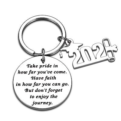 Inspirational Gifts For Women Girls Graduation Gifts Key Chain Keychain Friends
