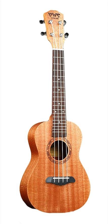 26 Pulgada 4 Cuerdas Ukulele Hawaiano Guitarra Adecuado para ...
