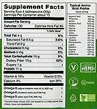Manitoba Harvest Organic Hemp Pro Fiber plus Protein Supplement, 16 Ounce; 13 grams of fiber per serving