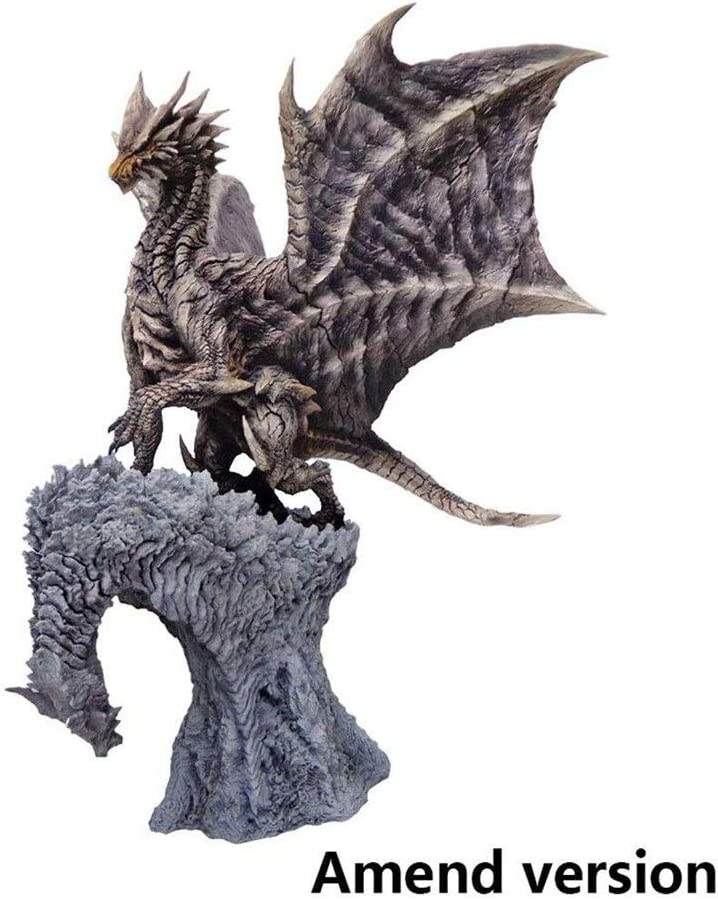 Amazon Com Bayueshop Game Character Model Anime Sculpture Monster Hunter World Kushala Daora Pvc Figure Highly Detailed Sculpt 12 2 Inche Anime Model Home Kitchen