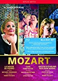Mozart: Le nozze di Figaro; Cosi fan tutte; Die entfuhrung aus dem serail [Blu-ray]