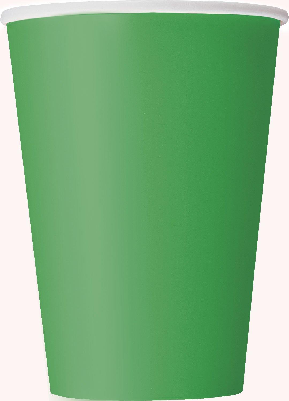 Confezione di 8 Unique Party 31356-266ml Bicchieri di Carta Lavanda