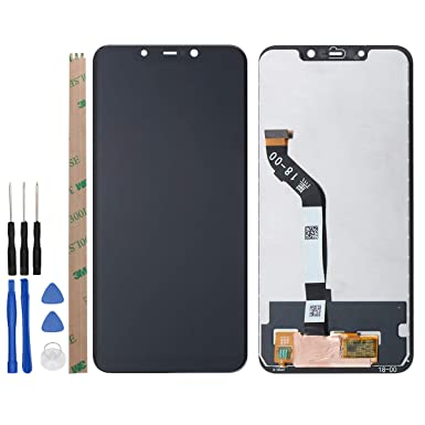 YHX-OU LCD Display + Touch Screen Digitizer Set for XiaoMi Pocophone F1