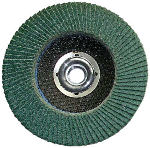 Grit-36 Shark F4536Z    4.5-Inch by 0.875-Inch Zirconia Flap Disc with Type 27