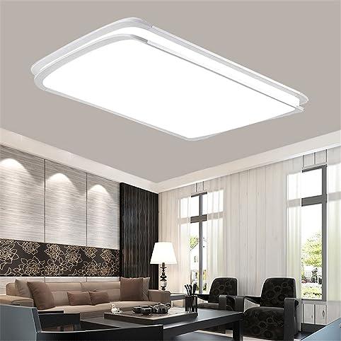 Charming MCTECH® 48W Kaltweiß LED Deckenleuchte Deckenlampe Doppelte Schichten  Modern Panel Leuchte Flur Wohnzimmer Bad