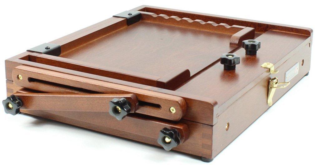 Sienna Plein Air Artist Pochade Box Easel Medium Brown (CT-PB-0910) by Sienna Plein Air
