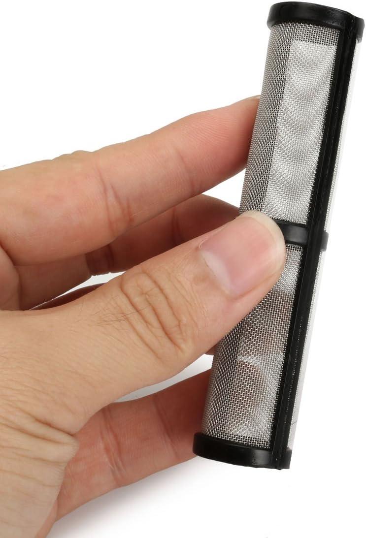 Hitsan 4/pcs Noir Airless Pulv/érisateur Spray Pompe /à filtre 60//écran en maille pour Graco 390/395/495/595/Pulv/érisateur