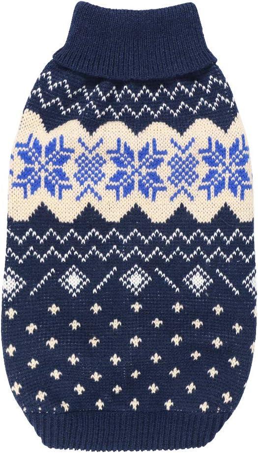 Hund Pullover Kleine Winter Warmer Hund Pullover Weihnachten Haustier Strickwaren Bekleidung