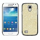 LASTONE PHONE CASE / Slim Protector Hard Shell Cover Case for Samsung Galaxy S4 Mini i9190 MINI VERSION! / Glitter Bling Money Rich Sparkly
