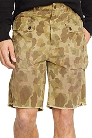 022085fe6 RALPH LAUREN Polo Men s Relaxed-Fit Camouflage-Print Cargo Shorts ...