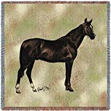 Pure Country Anglo Arabian Small Blanket Tapestry Throw