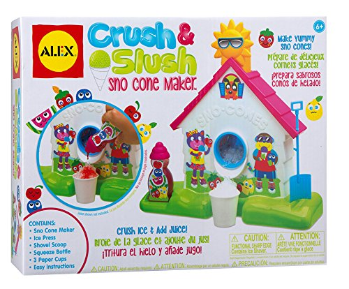 ALEX Toys Crush and Slush Sno Cone Maker
