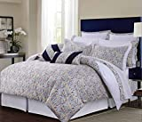 Best TRIBECA LIVING Bed Skirts - Fiji Cotton 12-Piece Bed In A Bag Set Review