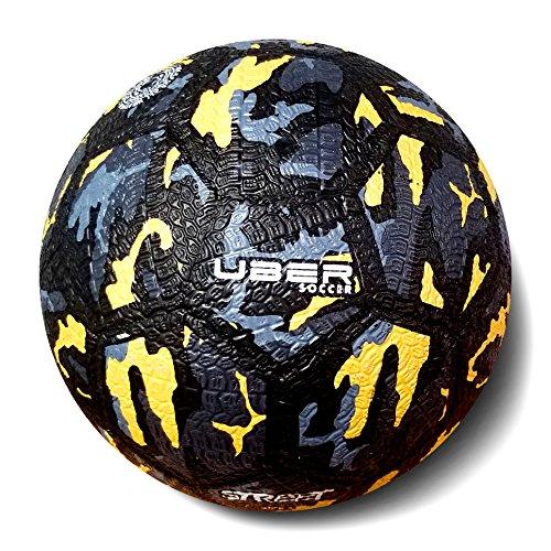 Uber Soccer Urban Street Soccer Ball - Camo (Size 4) (Best Freestyle Soccer Ball)