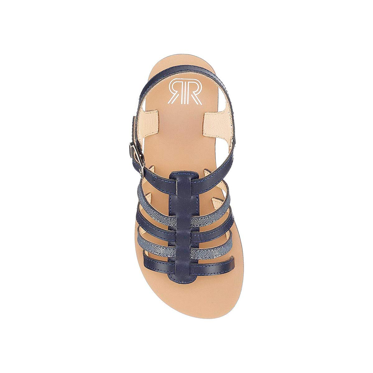 La Redoute Collections Big Girls Leather Sandals