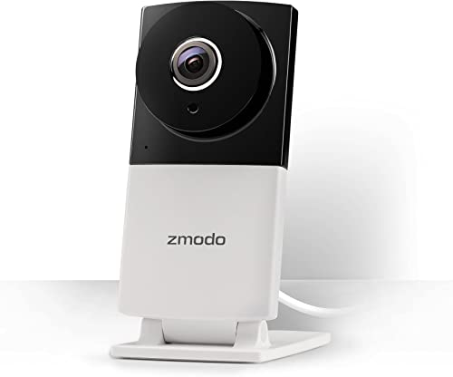 Zmodo Sight 180 C 180 Wide Angle 1080p Full HD Wireless Home Security IP Camera Night Vision and Two Way Audio - Cloud Service Available
