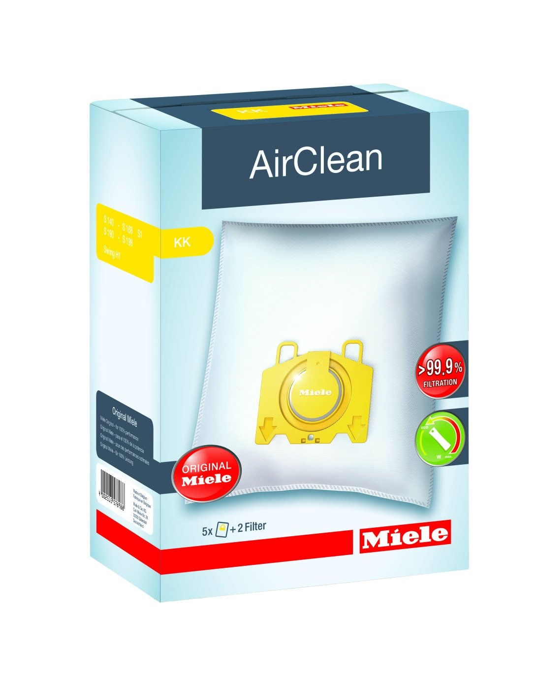 Miele AirClean FilterBags Type KK by Miele
