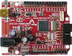 PIC32-PINGUINO-OTG Pinguino Arduino Compatible Microchip PIC32 PIC32MX440F256H