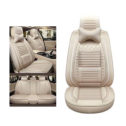 Amazon com: YUYE Car Seat Cover Linen 5 Seats General Purpose