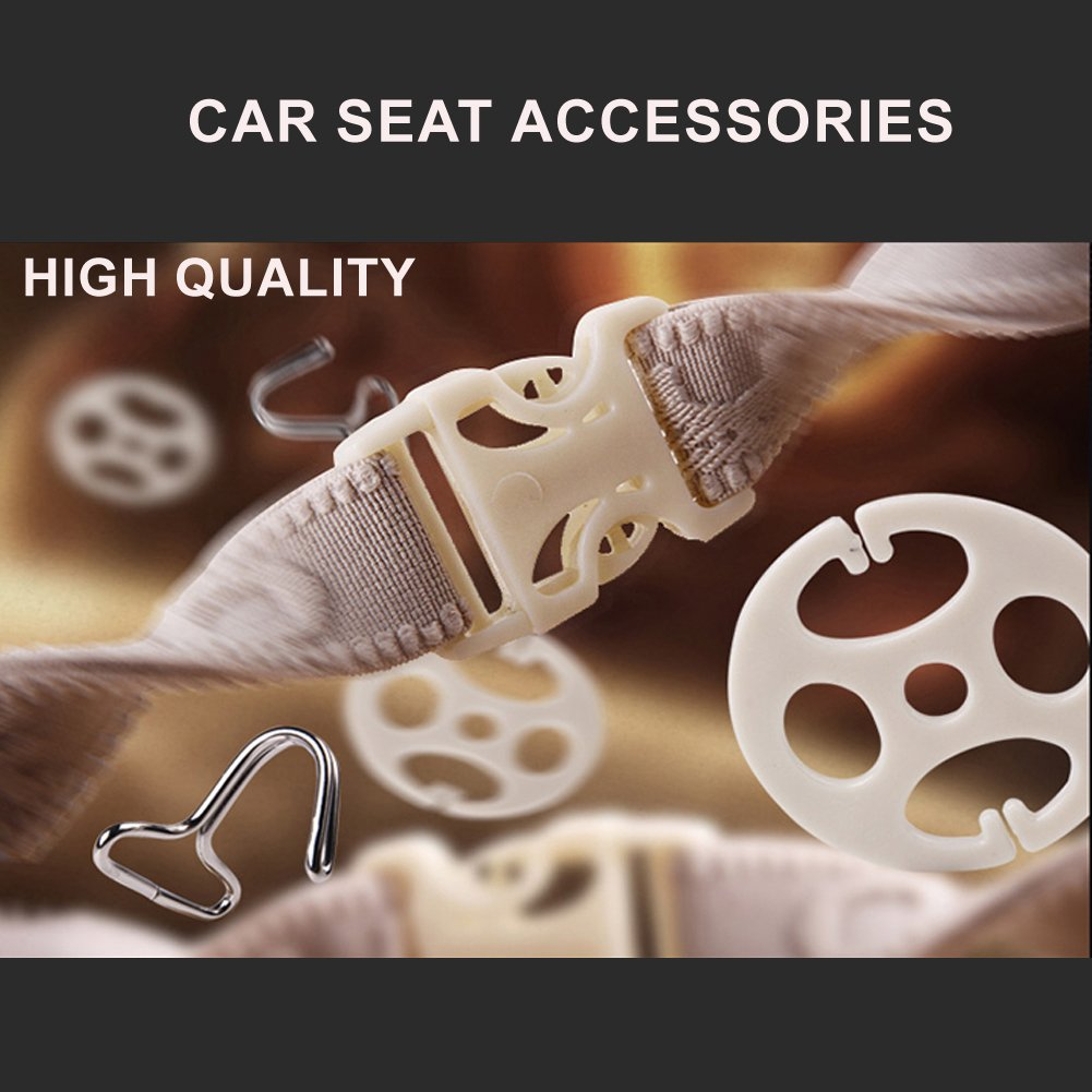 Leather Seat Covers Full Set 10 Pieces for 5 Seats Car Automotive Universal Fit Seat Covers with Front//Rear//Head//Car Seat Cushion Cover,Car Seat Covers for Year Round LJX GROUP-US