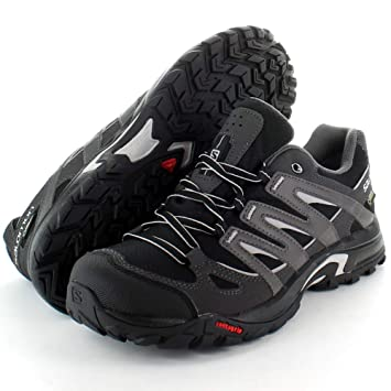 6568bfc8 Salomon Mens Eskape GTX GoreTex Walking Hiking Shoes Black: Amazon ...