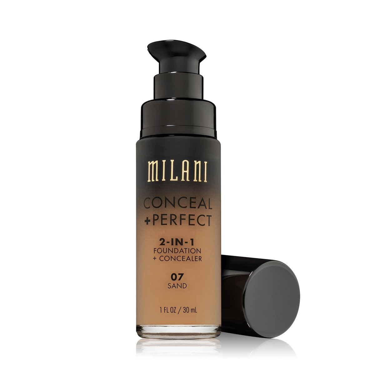 (3 Pack) MILANI Conceal + Perfect 2-In-1 Foundation + Concealer - Sand