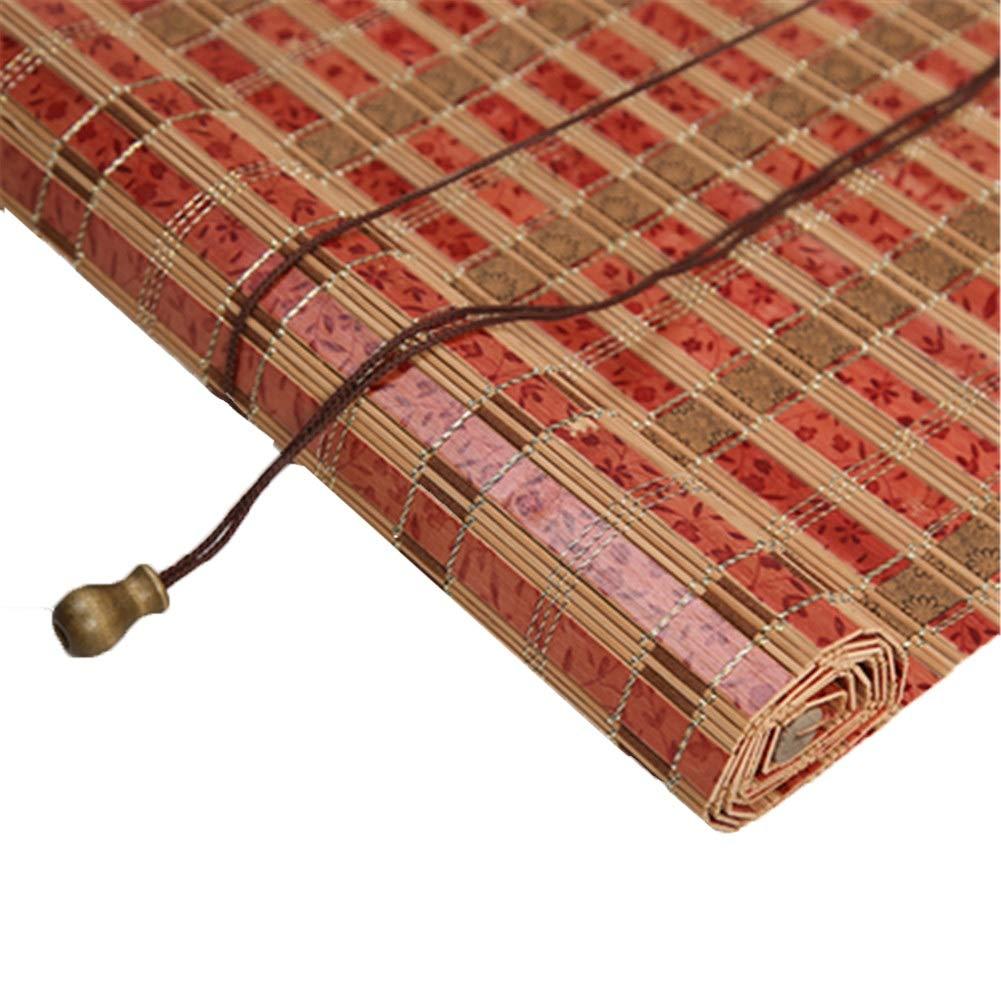 竹のブラインド、居間、寝室、ホテルのための垂直方向の遮光ブラインド (版 ばん : Wave, サイズ さいず : 120x220cm) B07QPS8YYW