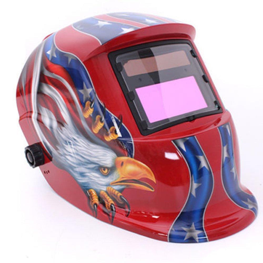 Automático oscurecimiento Solar casco de soldadura Arc Tig Mig máscara soldador objetivo máscara de banco: Amazon.es: Bricolaje y herramientas
