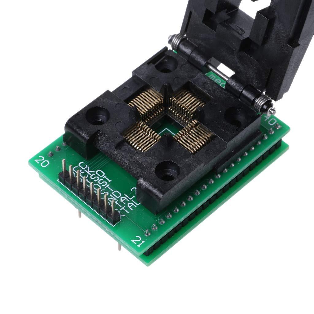 Lvyuanda TQFP44 To DIP40 IC Socket STC Programming Adapter TQFP44 Turn DIP40 Write Seat