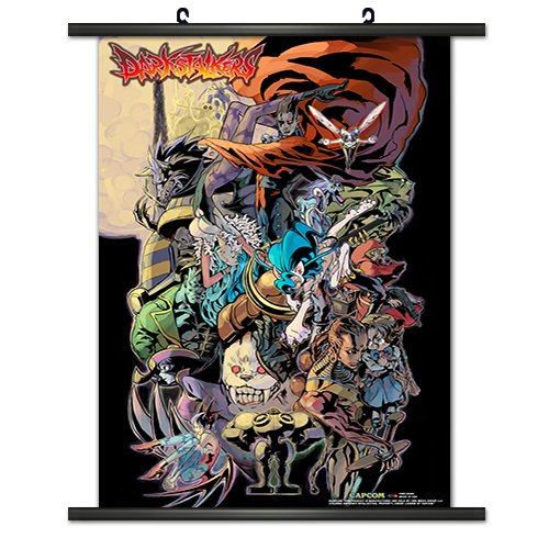 CWS Media Group Officially Licensed Darkstalkers Game Wall S