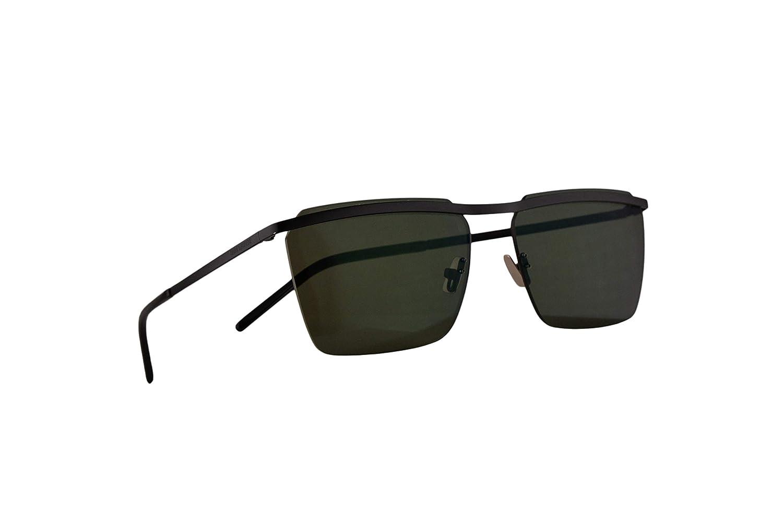Saint Laurent SL243 Gafas De Sol Negras Con Lentes Verde ...