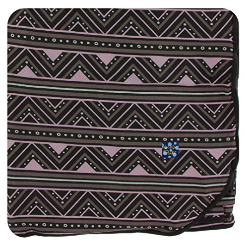 Kickee Pants Print Throw Blanket - African Pattern, One Size