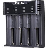 Universal Intelligent USB 4 Slots multifunctionele oplader voor Li-Ion/NI-MH/NI-Cd 18650 18350 17500 16340 14500 26500…