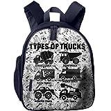 Best Everest Bookbags For Girls - Types Of Trucks New Style Kid's Shoulder Backpack Review