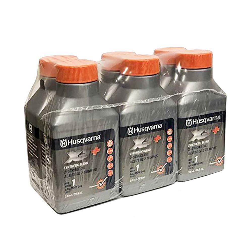 Husqvarna XP 2 Stroke Oil 2.6 oz. Bottle 6-Pack by Husqvarna