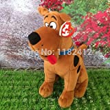large teddy bear 10 feet - Original Ty Scooby Doo Dog Plush Toy 25cm 10'' Large Scooby-Doo Stuffed Animals