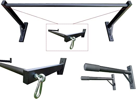 COMERCIAL GYMCOR TRIPLE PACK-PULL BARRA, BARRAS Y 2 SACO HANGRAILS/TRX MONTAJES