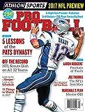Athlon Sports 2017 Pro Football New England Patriots Preview Magazine