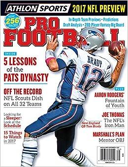 Athlon Sports 2017 Pro Football New England Patriots Preview Magazine   Athlon Sports  Amazon.com  Books 53a4140bc20